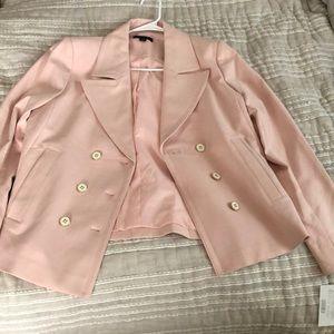 Pale pink blazer